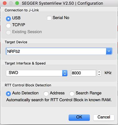 SEGGER SystemView — Apache Mynewt latest documentation
