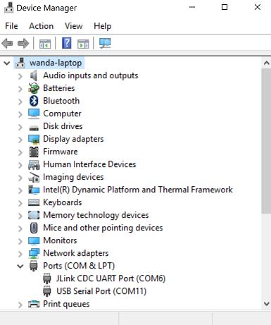 Using the Serial Port with Mynewt OS — Apache Mynewt latest